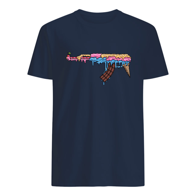 Ak 47 ice cream mens shirt