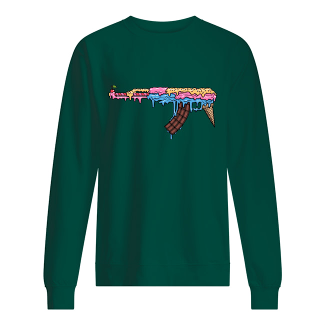 Ak 47 ice cream sweatshirt