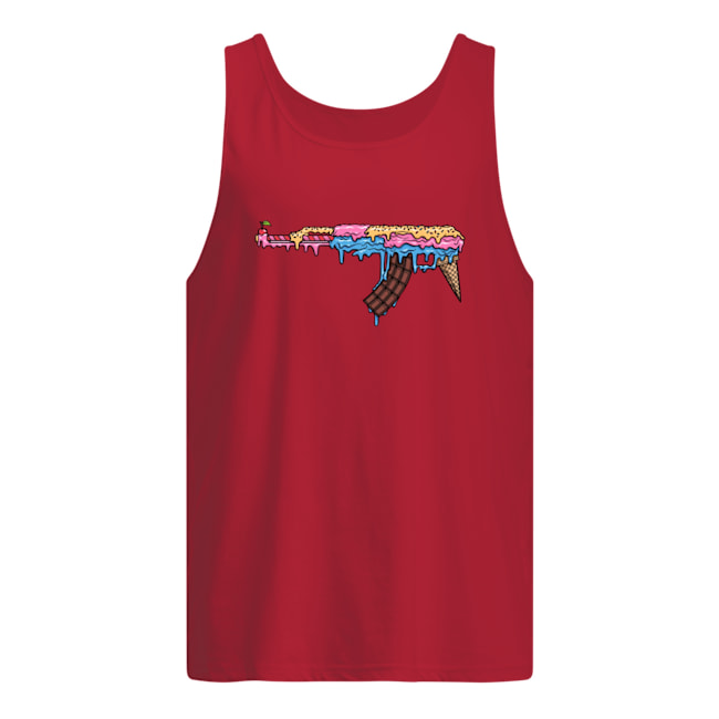 Ak 47 ice cream tank top