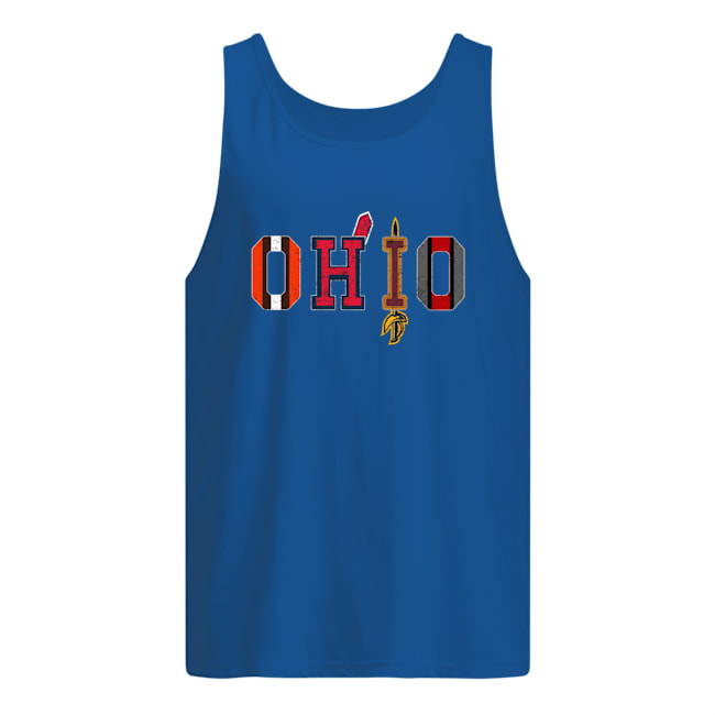 Cleveland Browns Indians Cavaliers Ohio State tank top