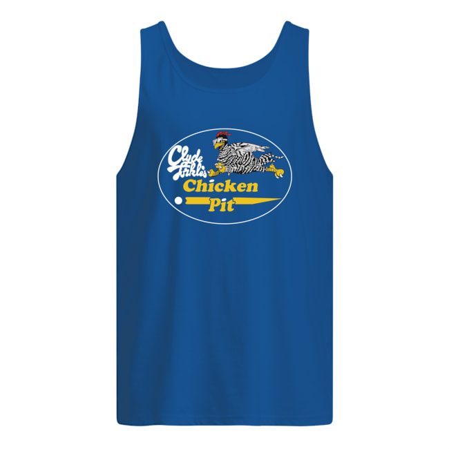 Clyde Turkles chicken pit 7 fastest chicken in the south tank top