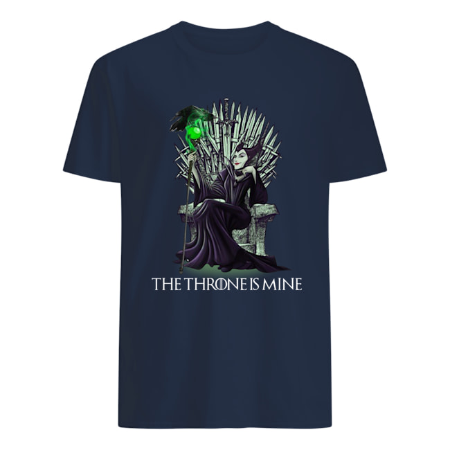 Maleficent the throne is mine mens shirt