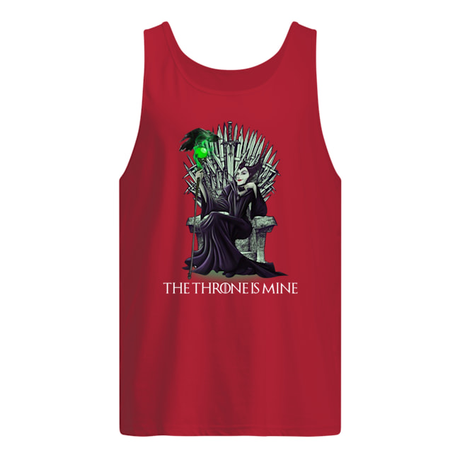 Maleficent the throne is mine tank top