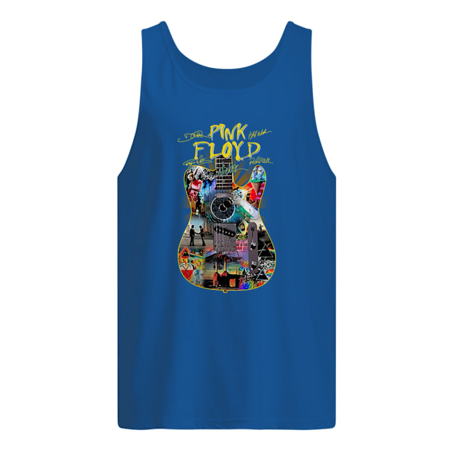 Pink Floyd guitar signature tank top