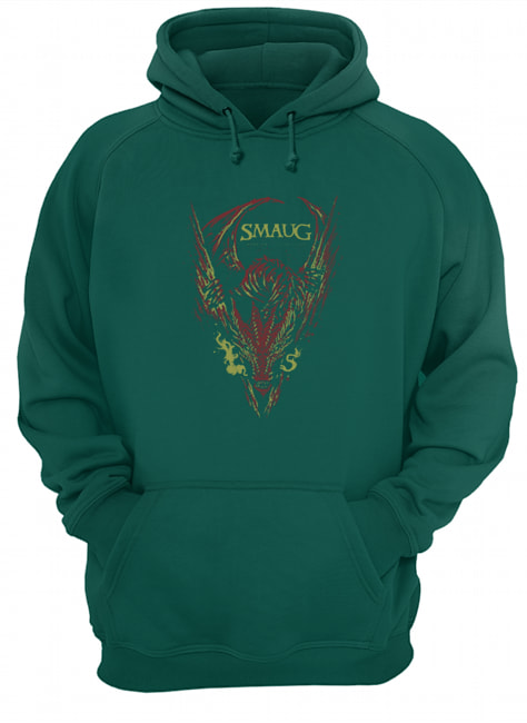Smaug my armor is like tenfold shields hoodie