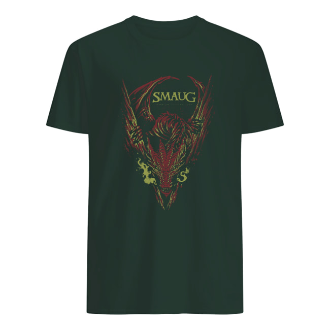 Smaug my armor is like tenfold shields mens shirt