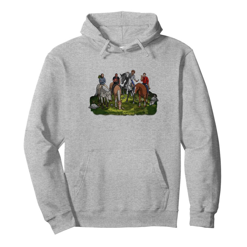The four horsemen of wholesomeness hoodie