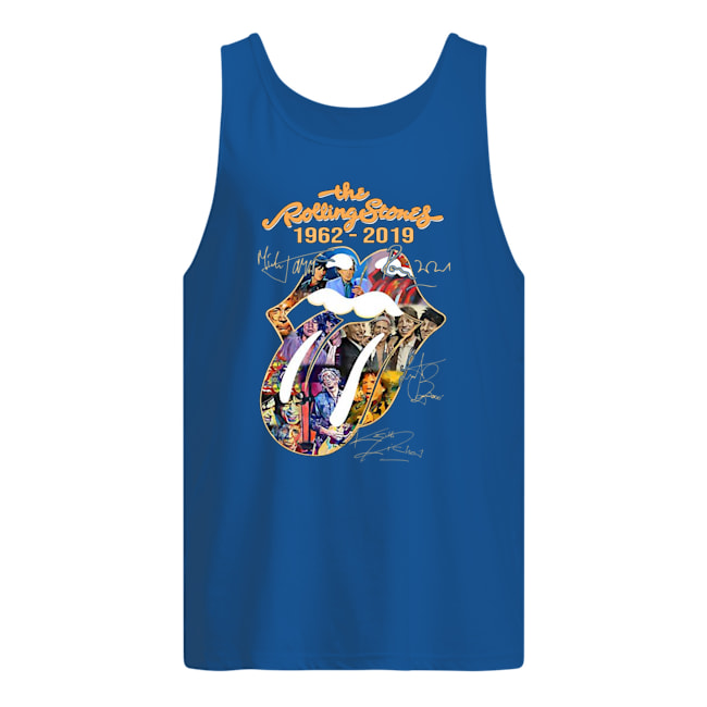 The rollling stones 1962 2019 signature tank top