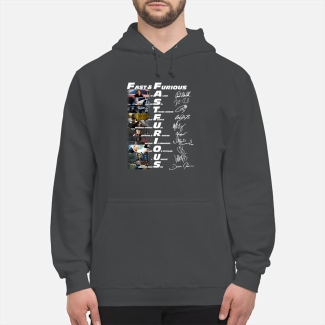 Good Fast And Furious characters signature shirt