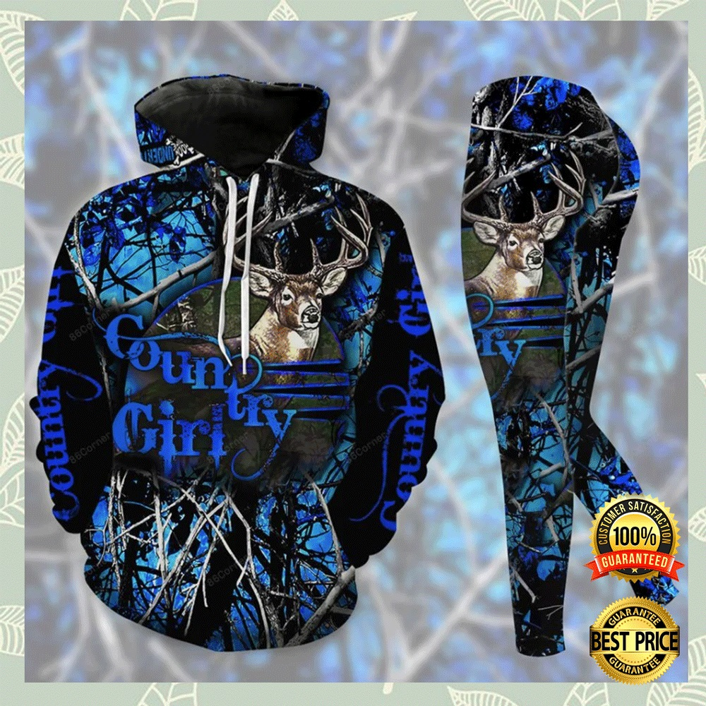 Country Girl 3d Hoodie And Legging 3