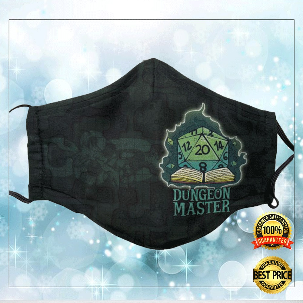 [Cheapest] DUNGEON MASTER FACE MASK