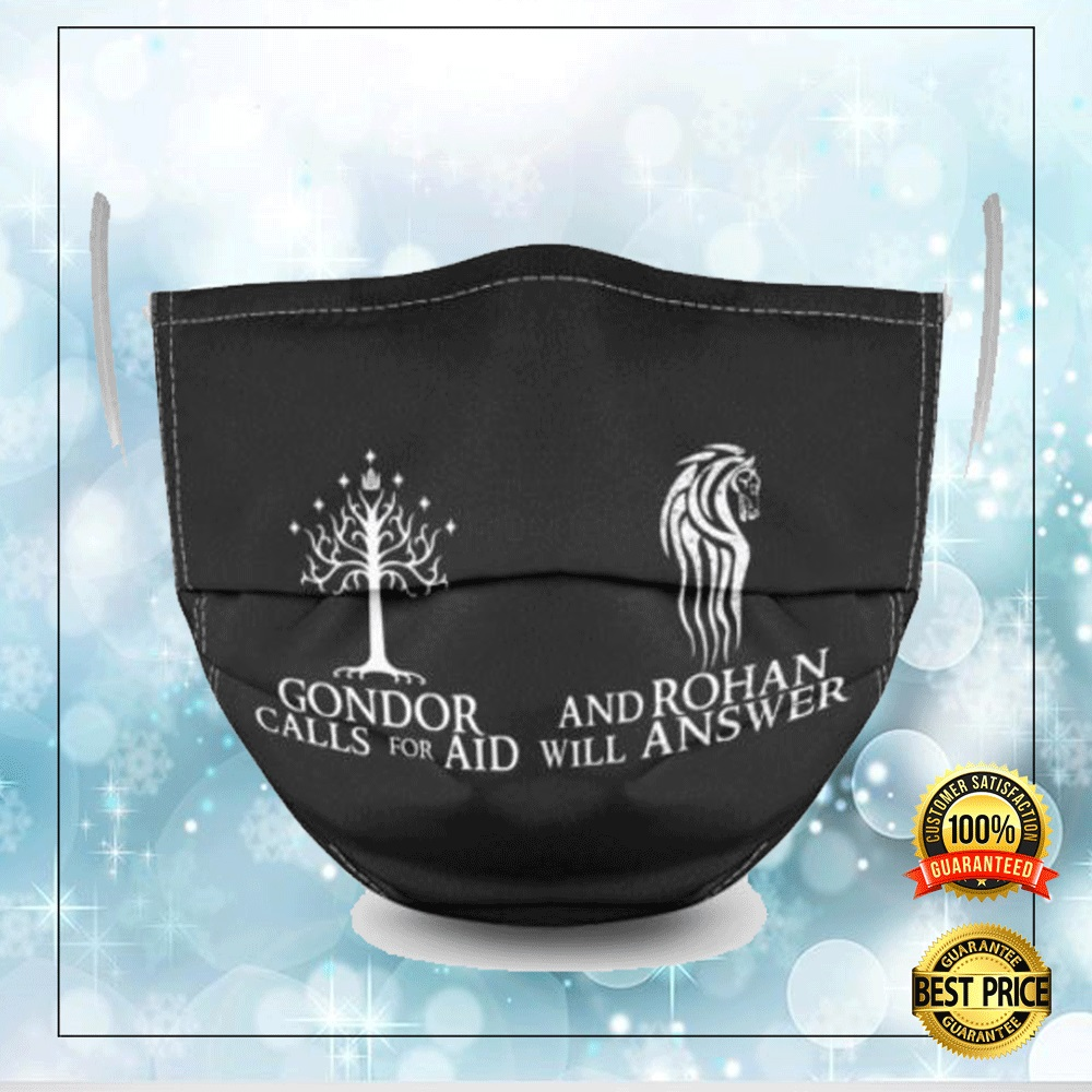 Gondor Call For Aid And Rohan Will Answer Face Mask 4