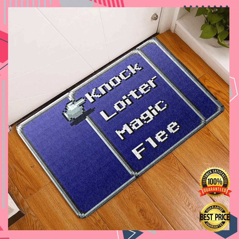 Knock Loiter Magi Flee Doormat 4