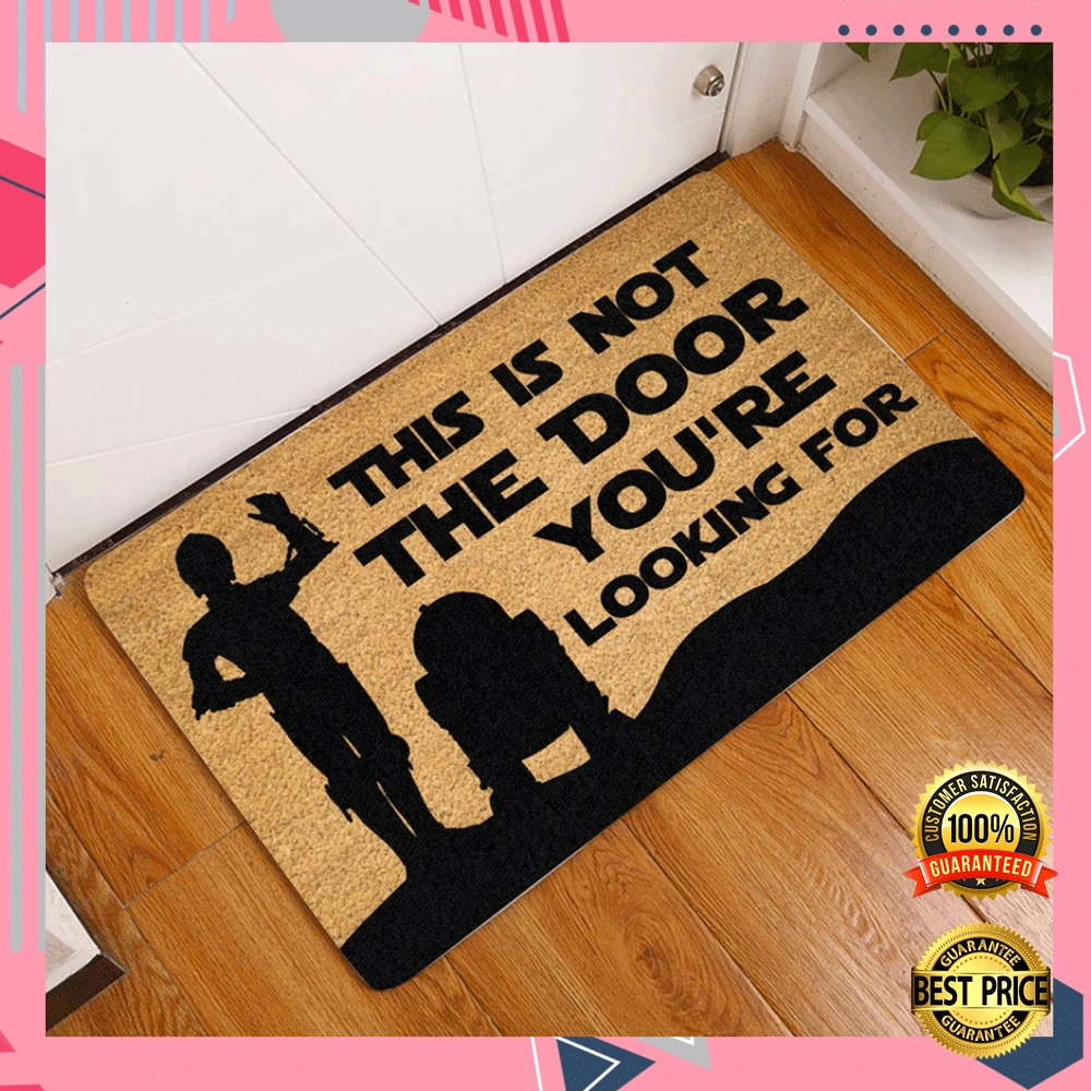 Star Wars This Is Not The Door You're Looking For Doormat 4