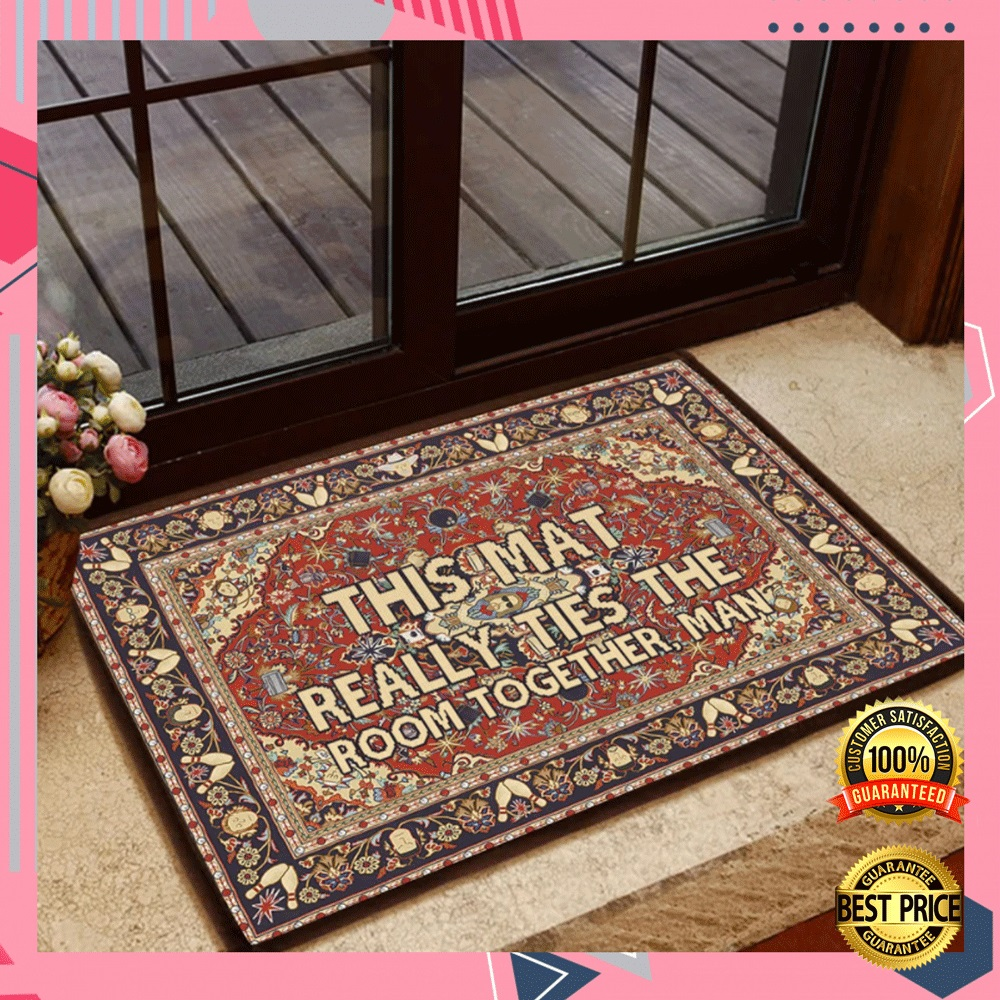 This Mat Really Ties The Room Together Man Doormat 4