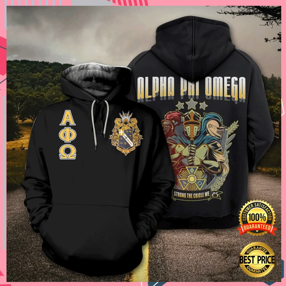 [Sale off] Alpha Phi Omega All Over Printed 3d Hoodie