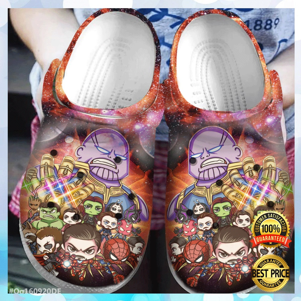 Avenger End Game Chibi Crocs Crocband 4