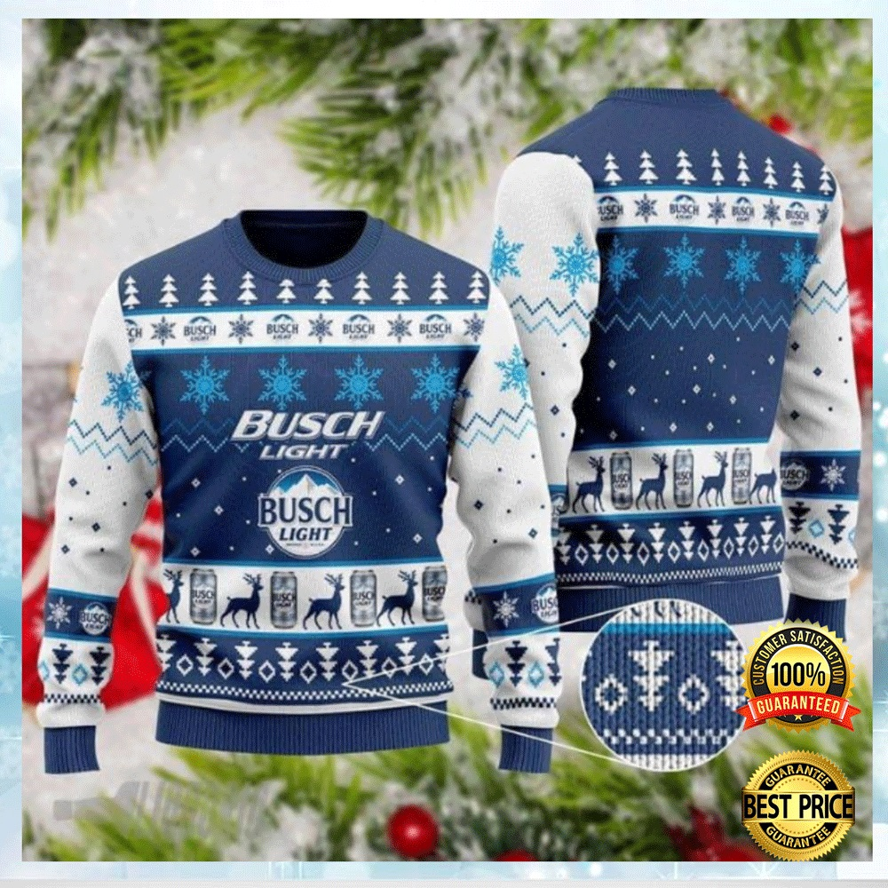Busch Light Ugly Sweater 4