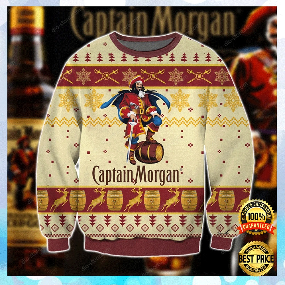 Captain Morgan Ugly Sweater 4