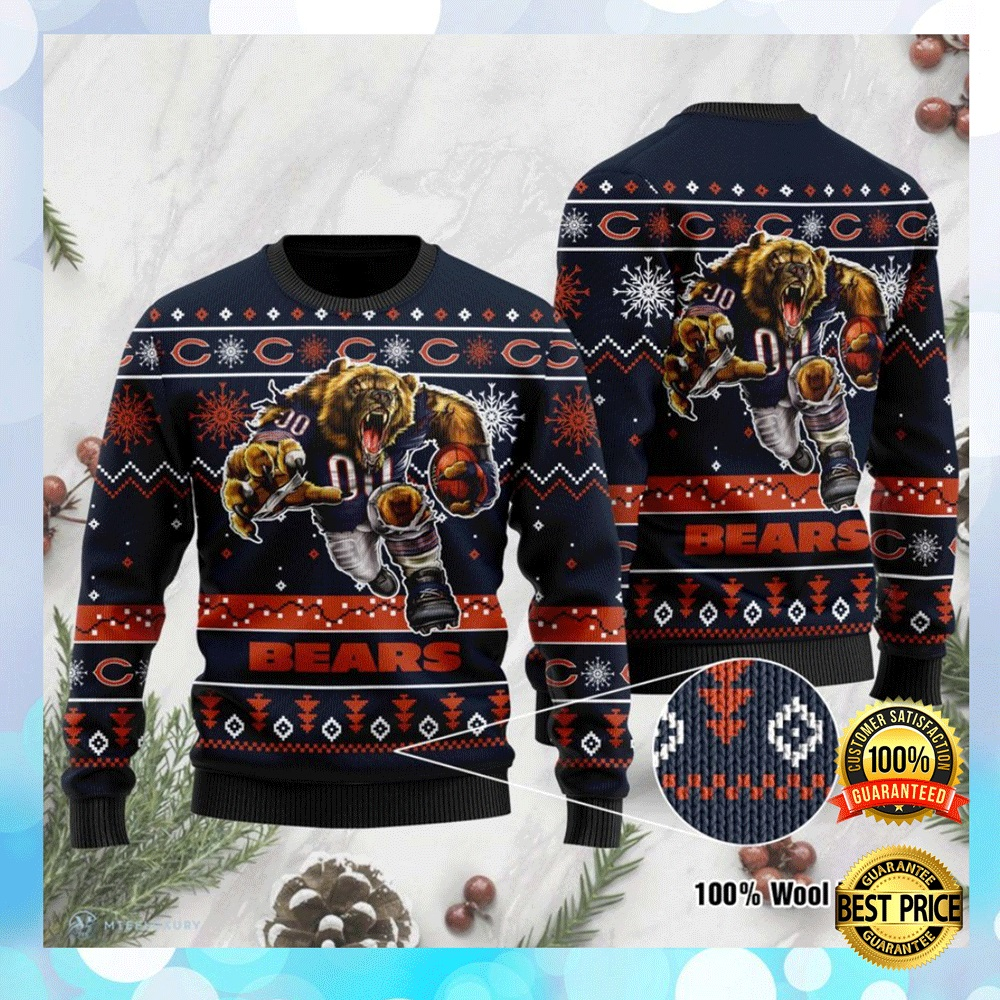 Chicago Bears Ugly Sweater 4