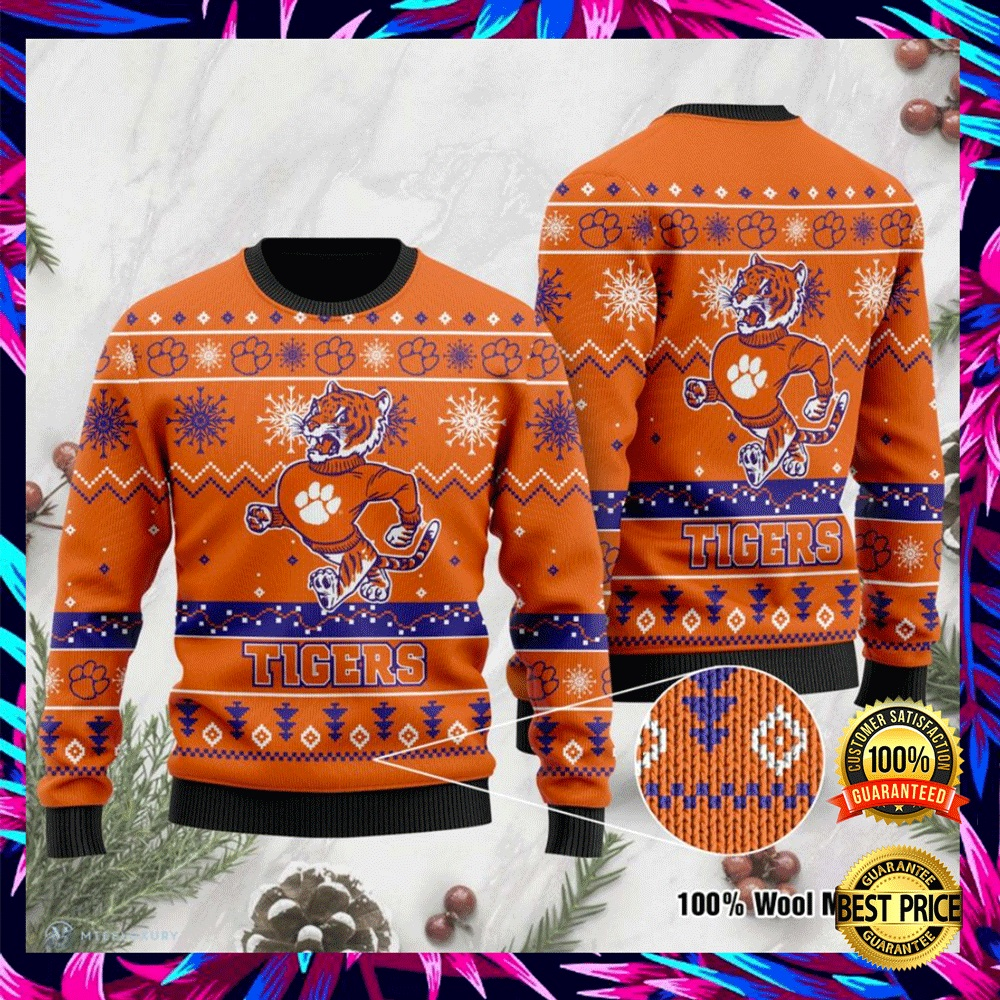 Clemson Tigers Football Ugly Sweater 4
