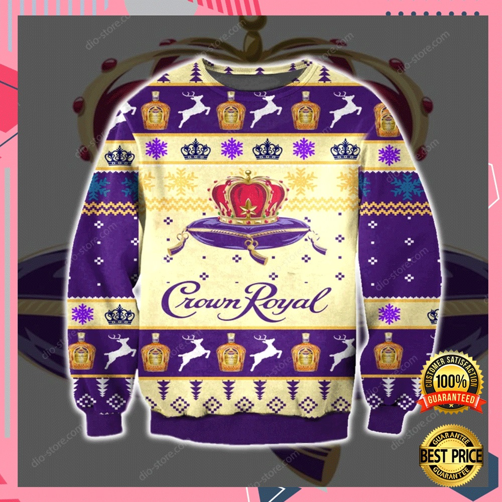 Crown Royal 3d Ugly Sweater 4