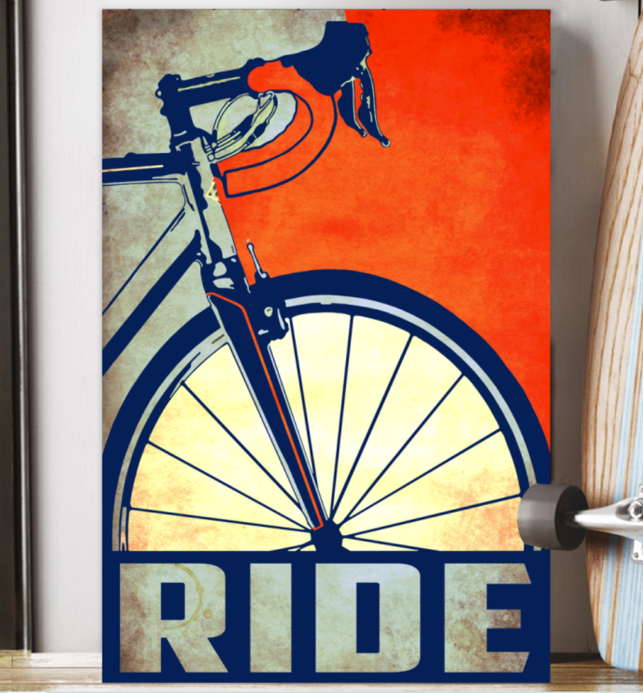 Cycling Ride Poster 6