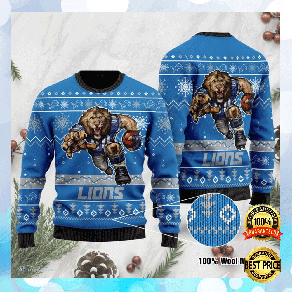 Detroit Lions Ugly Sweater 4