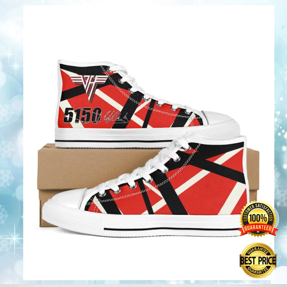 Eddie Van Halen 5150 Signature High Top Shoes 4