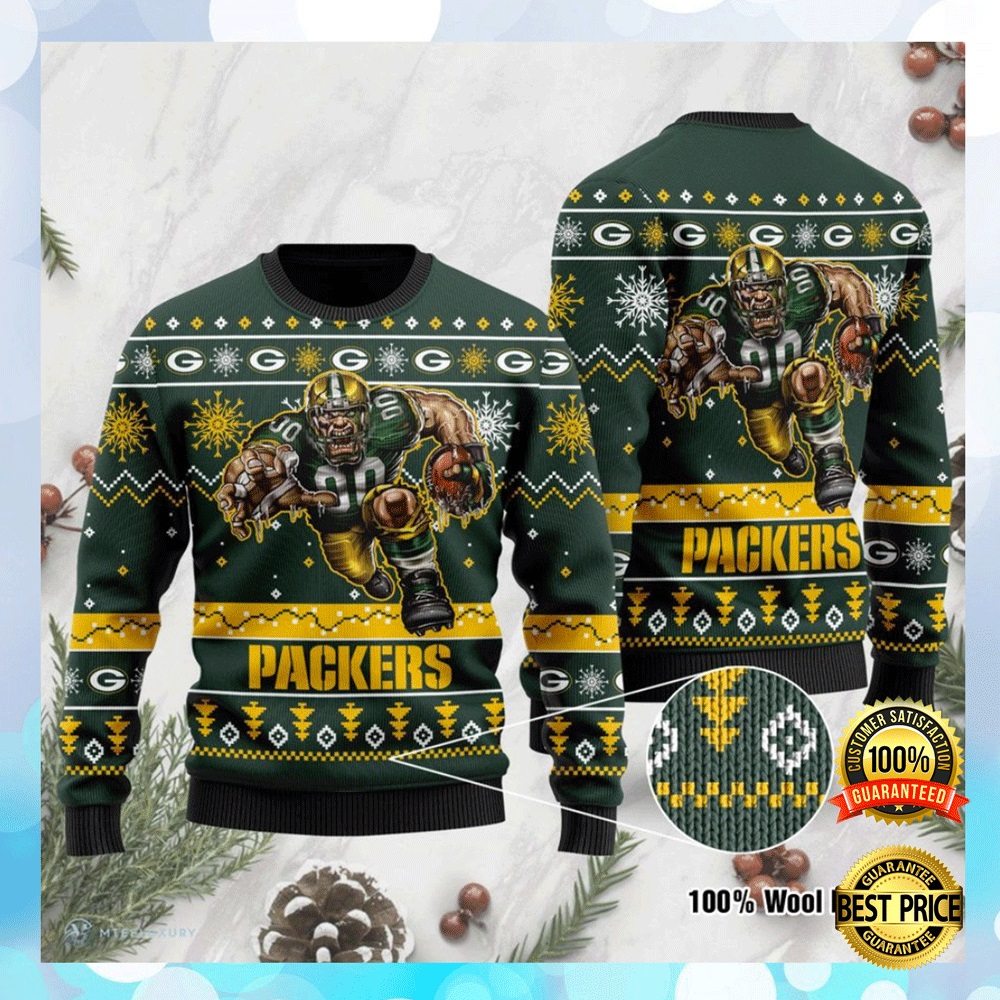 Green Bay Packers Ugly Sweater 4