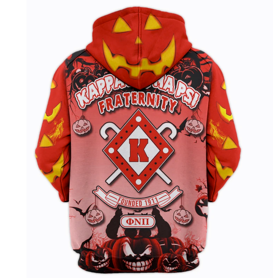 Happy Halloween Kappa Alpha Psi Fraternity All Over Printed 3d Hoodie 4