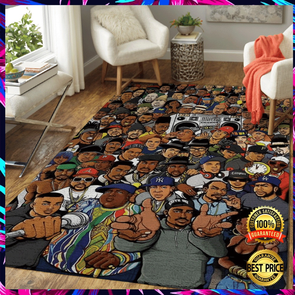 Hip Hop Legends Rug 3