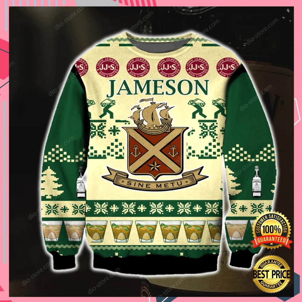 Jameson 3d Ugly Sweater 4