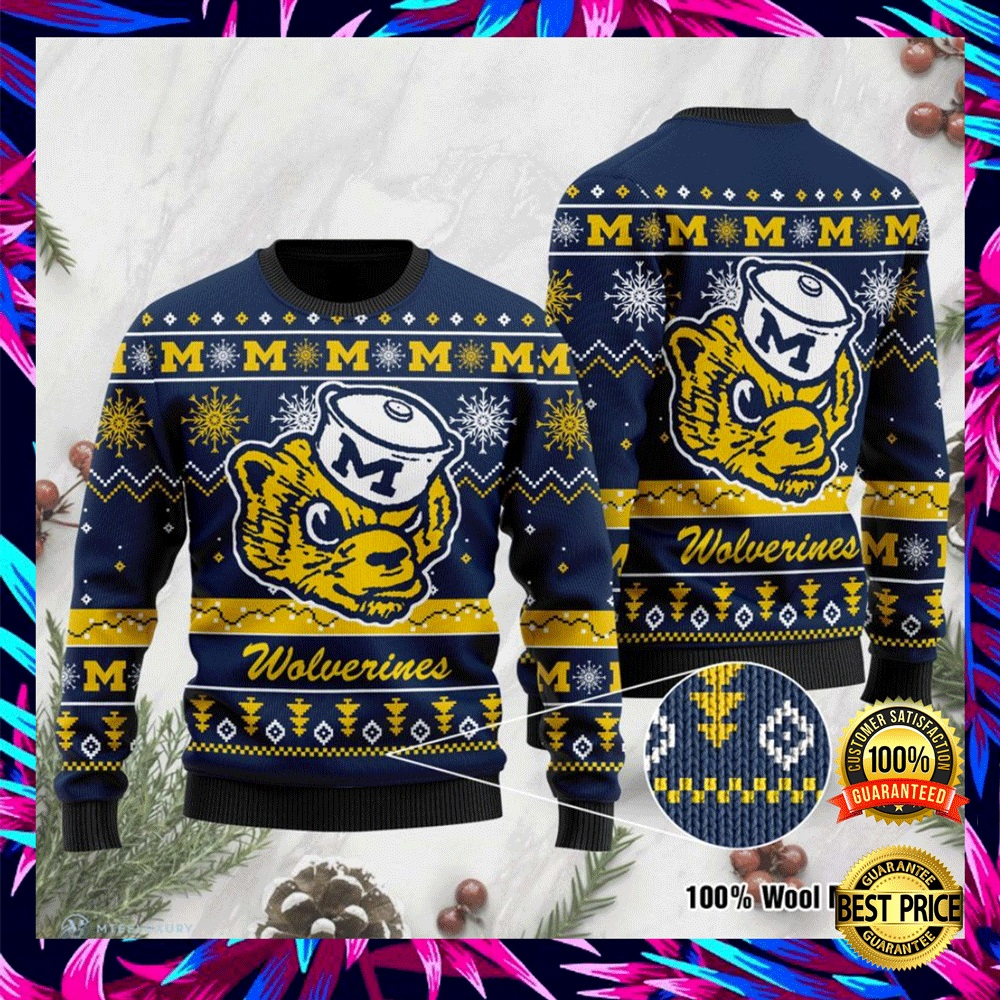 Michigan Wolverines Football Ugly Sweater 4