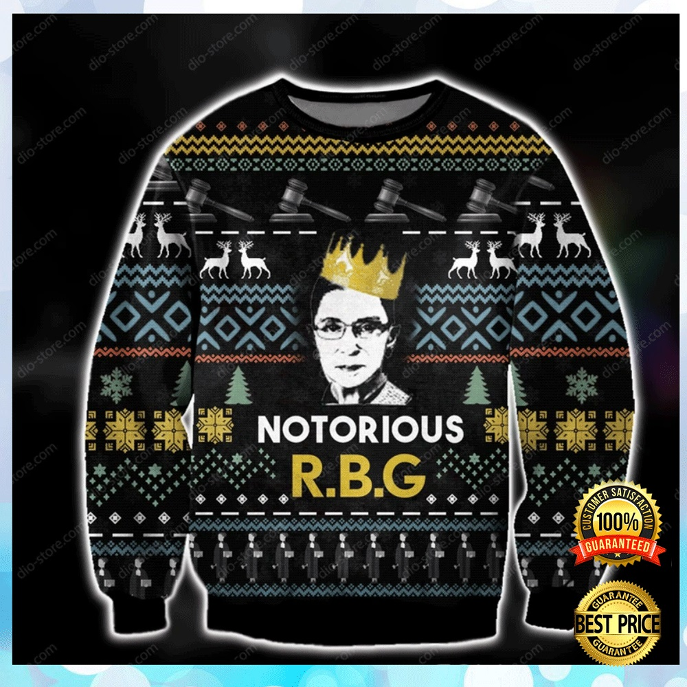 Notorious Rbg Ugly Sweater 4