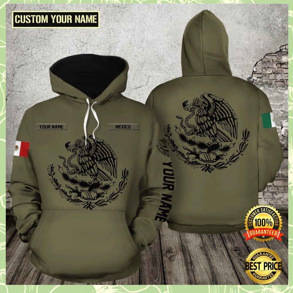 Personalized Mexico All Over Printed 3d Hoodie 4