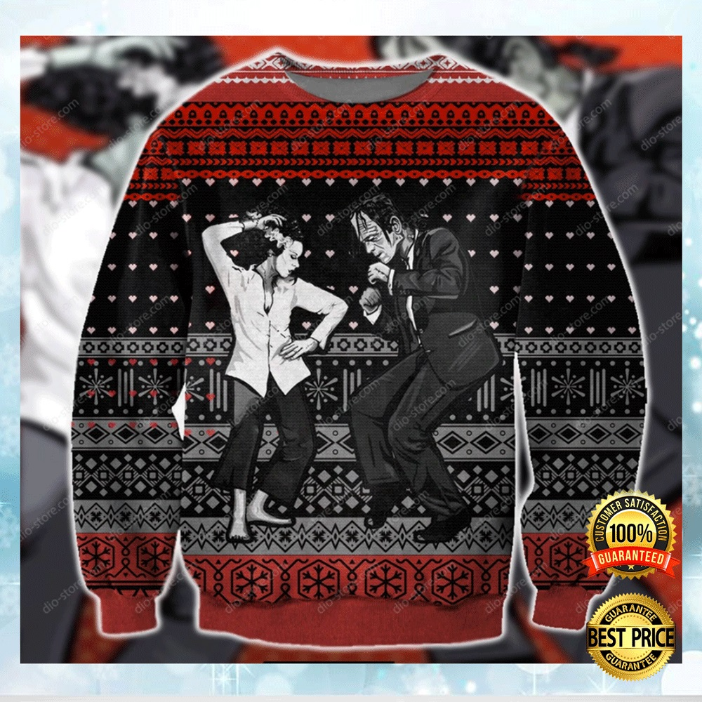 Pulp Frankenstein Ugly Sweater 4