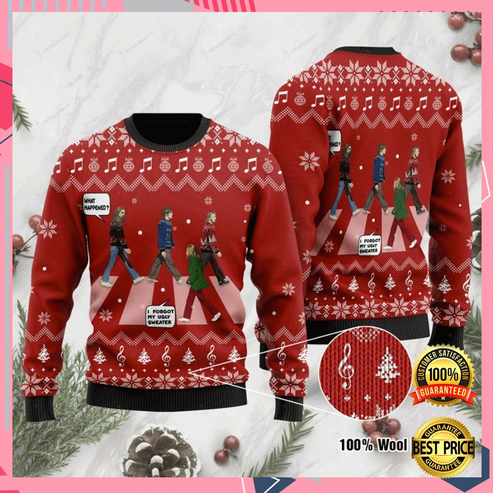 The Beatles Abbey Road Ugly Sweater 4