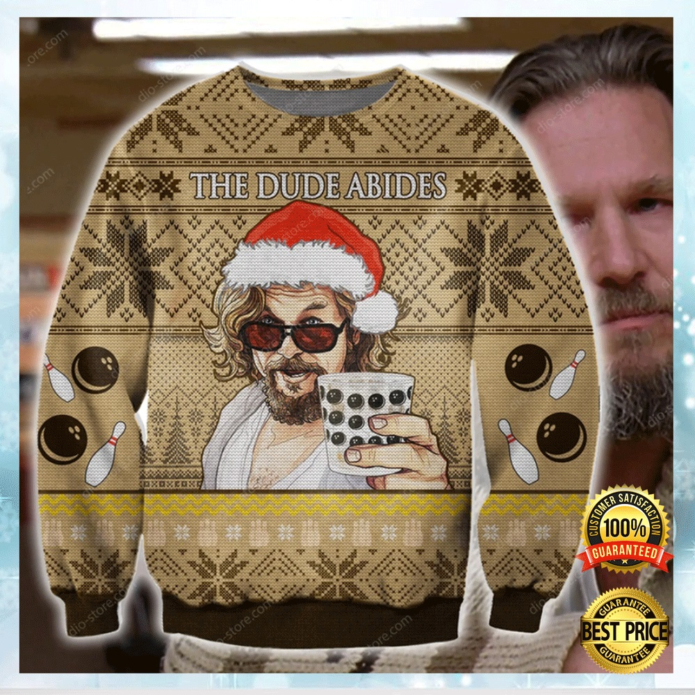The Dude Abides Ugly Sweater 4