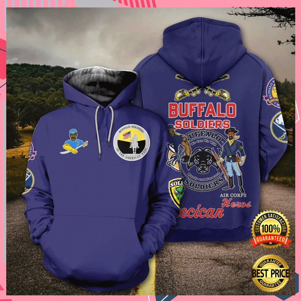 Buffalo Soldier All Over Printed 3d Hoodie 4