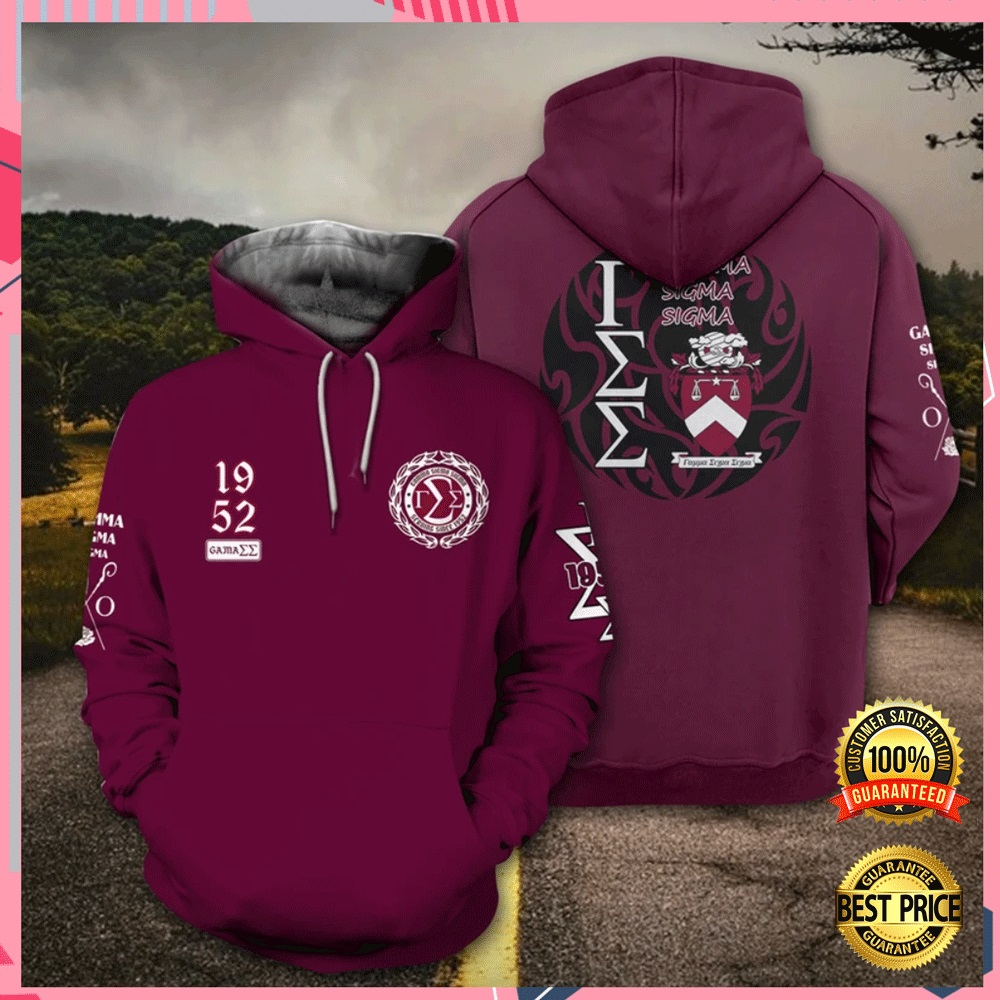 Gamma Sigma Sigma All Over Printed 3d Hoodie 4