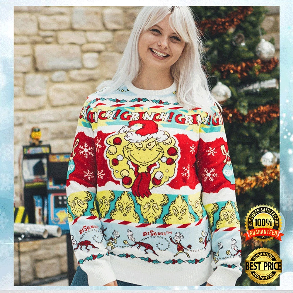 Grinch Dr Seuss Ugly Sweater 4