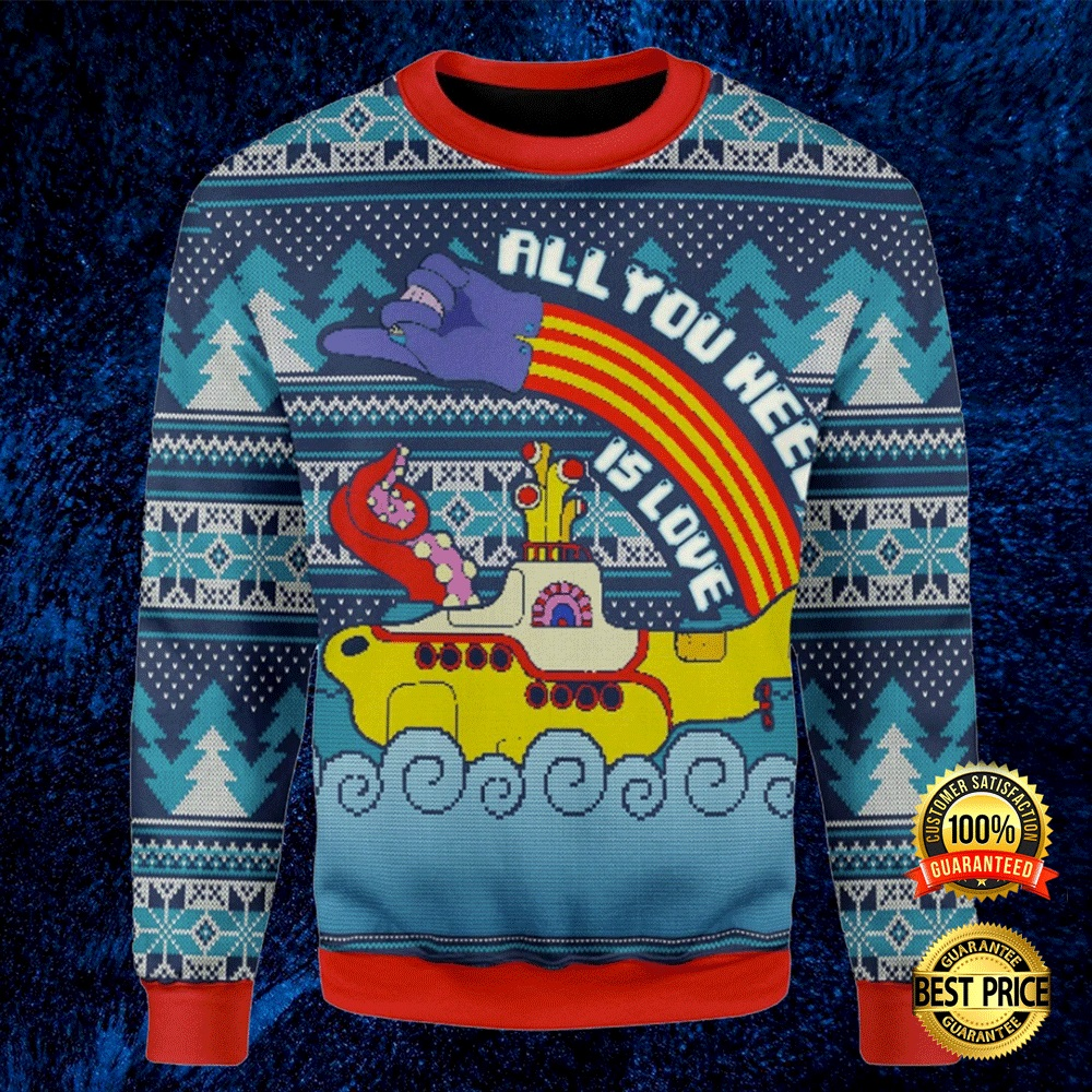 Lgbt All You Need Is Love Ugly Sweater 4