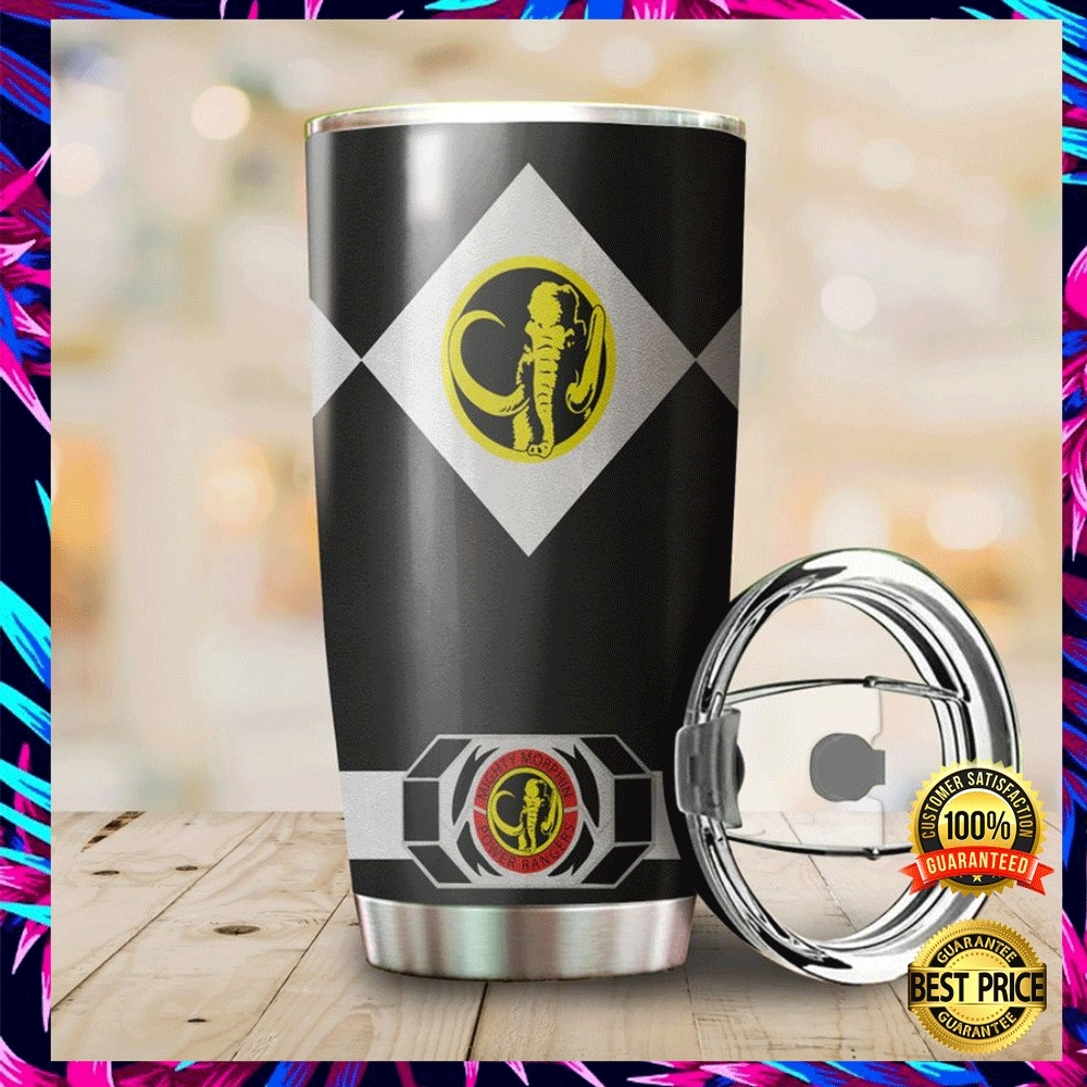 Black Power Ranger Tumbler 4