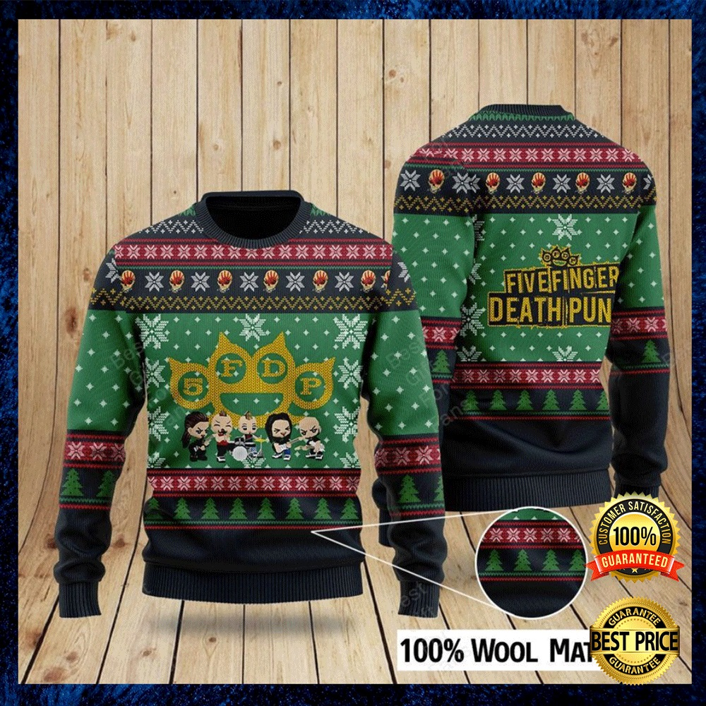 Five Finger Death Punch Ugly Sweater 4