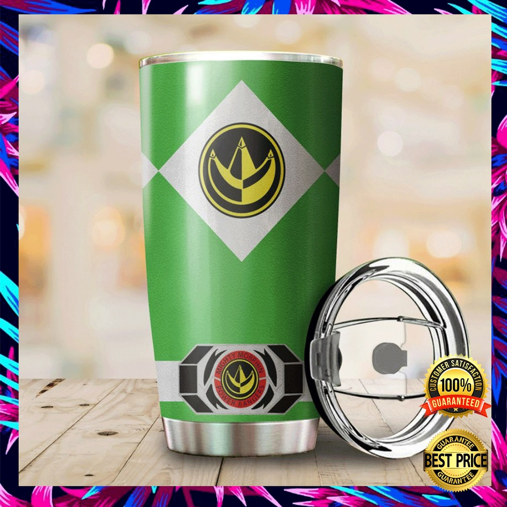 Green Power Ranger Tumbler 4
