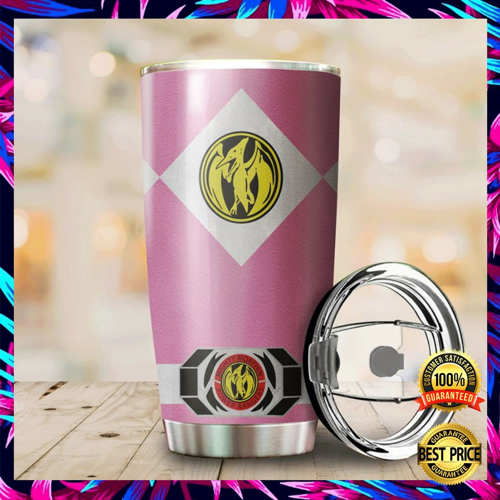 Pink Power Ranger Tumbler 4