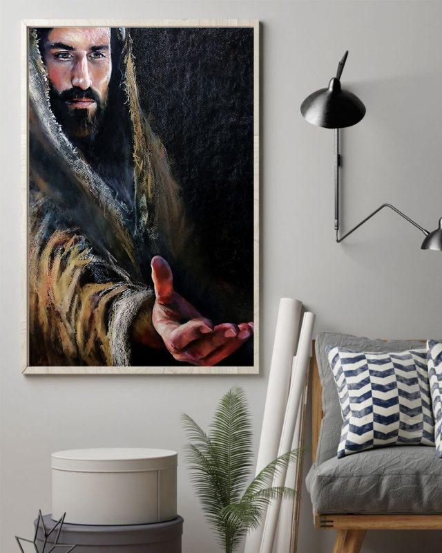 [LIMITED] Poster Jesus reaching hand