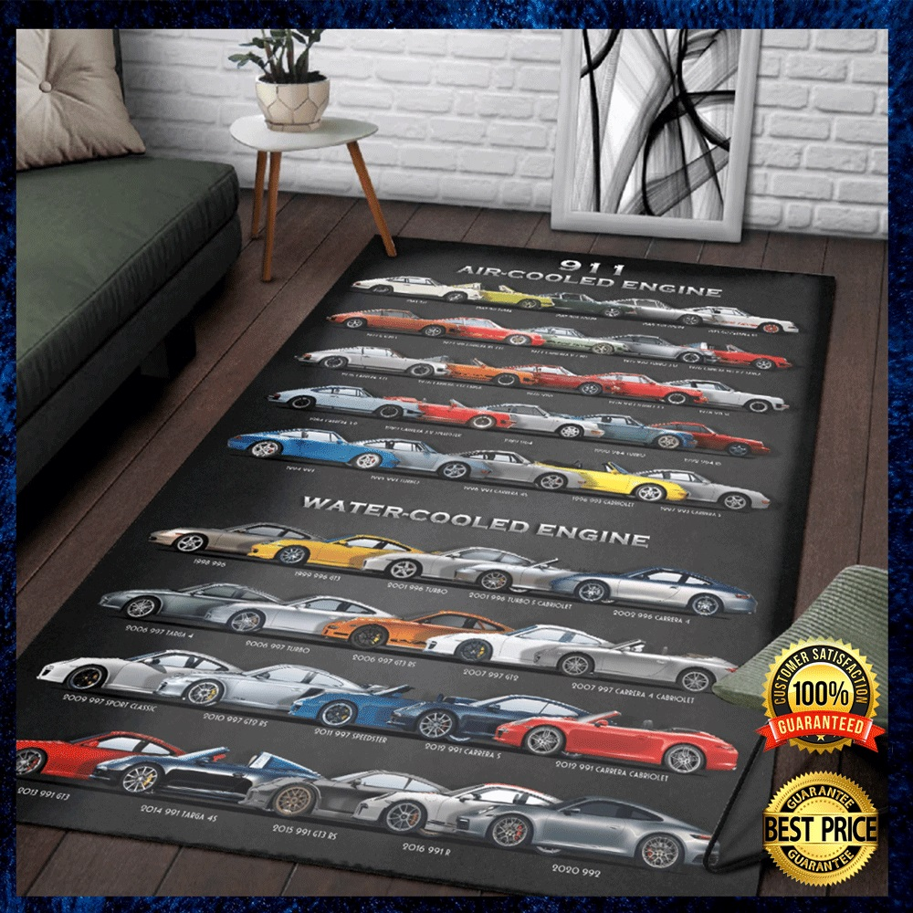 911 Air Cooled Engine Rug 4