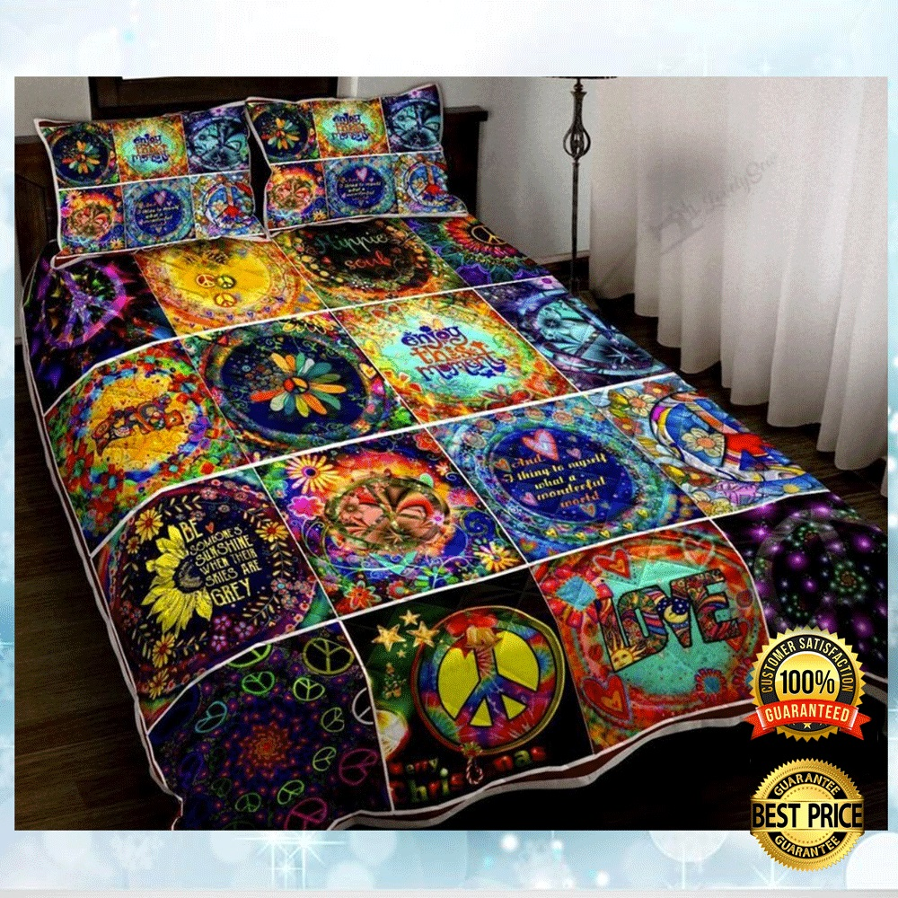 Hippie Things Bedding Set 4